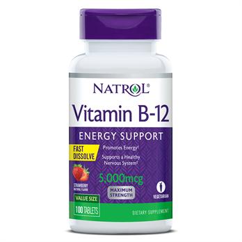 natrol vegan b12 supplement