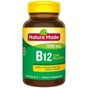 nature made b12 vegan supplement